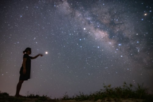 Milky Way, Mars in hand @ Miyakojima Nature Astronomical Observation